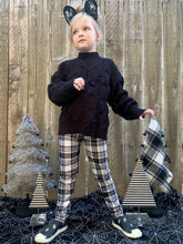 Load image into Gallery viewer, Ghost Plaid Leggings (Kids)