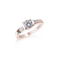 rose gold classic engagement ring T116R004DORO MIAJWL