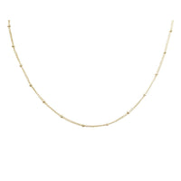 Beads chain necklace stainless steel Chaine acier inoxydable MIA T219C018