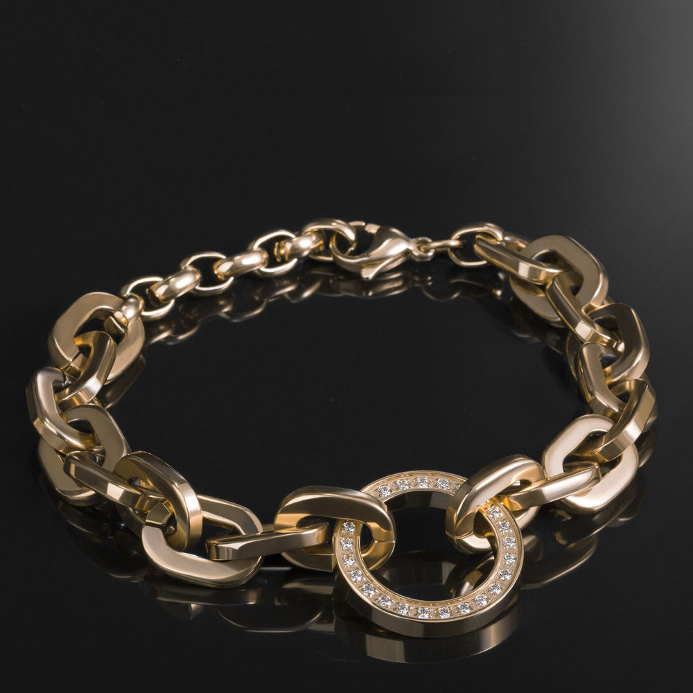 gold-stainless-circle-life-bracelet-cercle-vie-acier-inox-or-T416B004