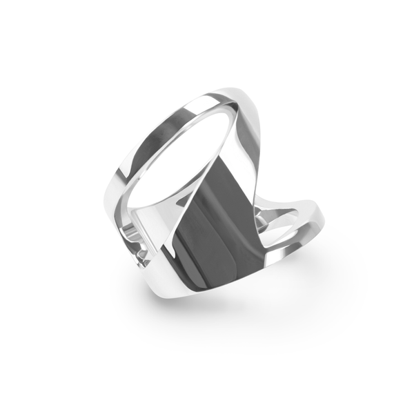 stainless-modern-zigzag-ring-bague-moderne-zigzag-acier-inoxydable-T116R011-MIA