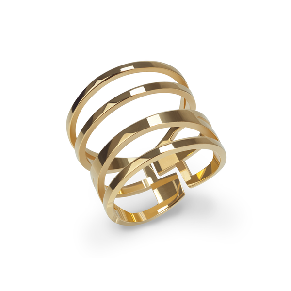 stainless-minimalist-multirangs-gold-ring-bague-acier-inoxydable-T415R009-MIA