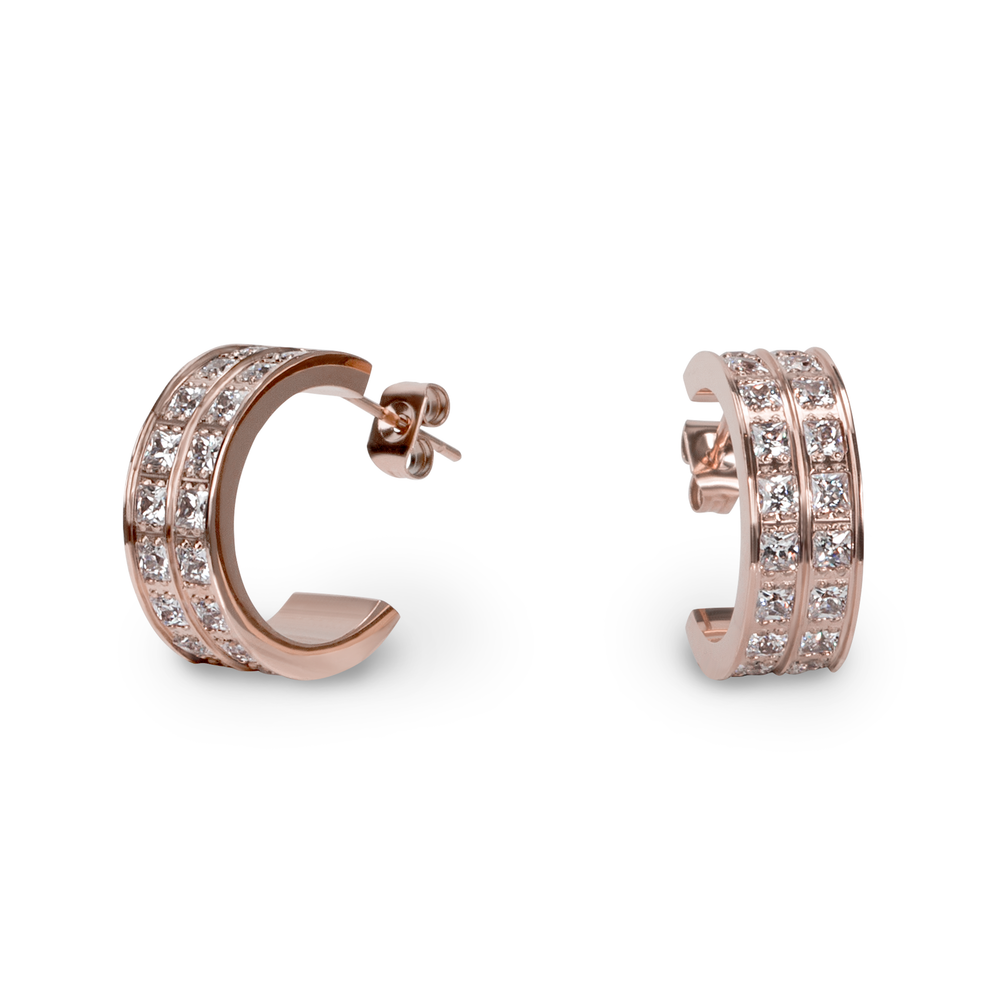 stainless-steel-half-hoop-earrings-pink-gold-austrian-crystals-hypoallergenic-water-resistant-boucles-doreilles-demi-cerceau-or-rose-cristaux-autrichien-acier-inoxydable-hypoallergenique-T412E014DOR-MIA