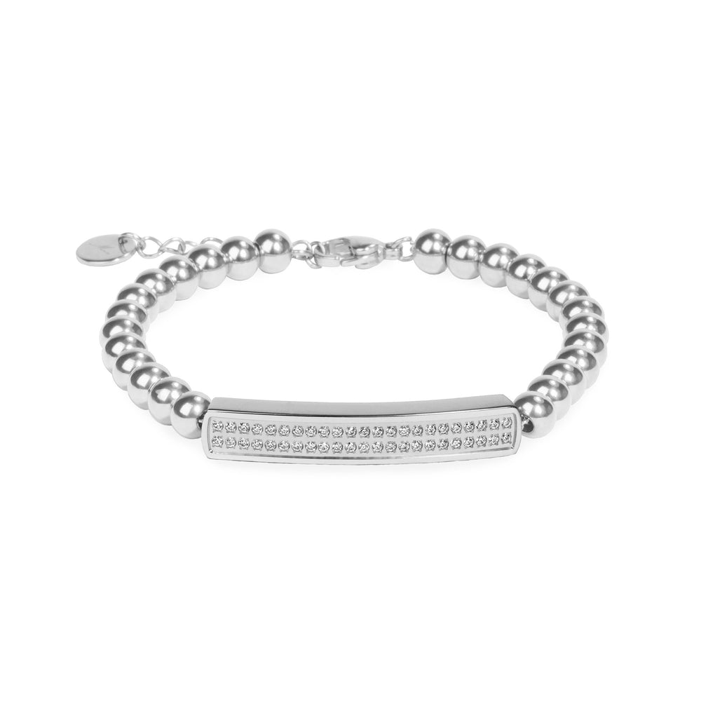 stainless steel beads bracelet for women