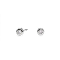 stainless steel 3mm stud earrings hypoallergenic MIAJWL T119E004AR