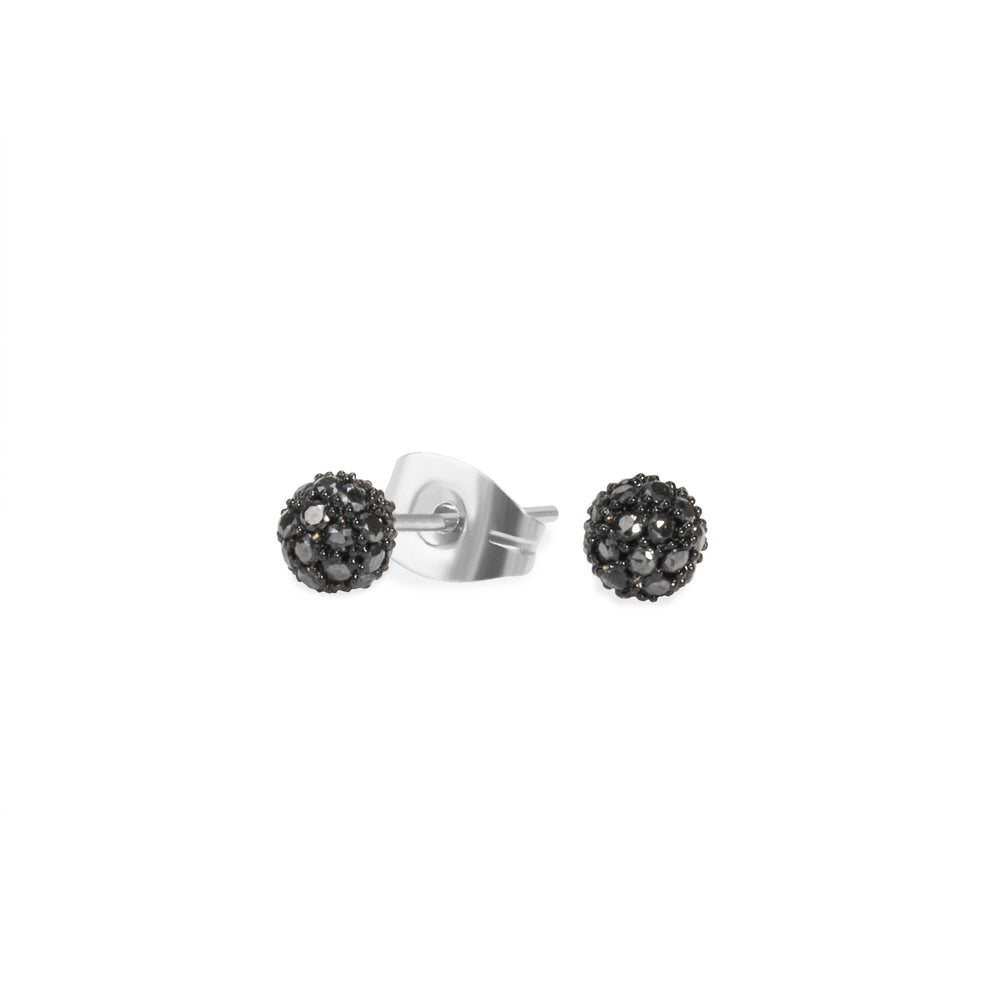 black-fireball-stud-earrings-zirconias-T411E015NO-MIA