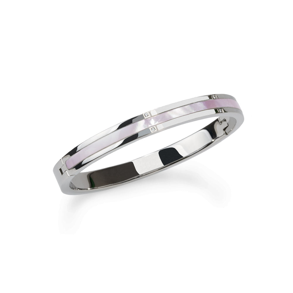 hypoallergenic stainless steel bangle bracelet
