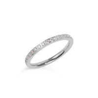 thin eternity ring stainless steel bague éternité acier inoxydable MIA T419R001