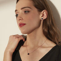 black marble jewelry for women