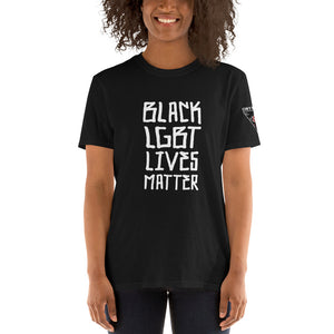 Black LGBT Lives Matter T-Shirt- Punk