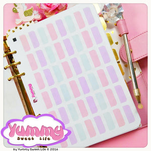 Pastel Dividers Tab Stickers (A5)