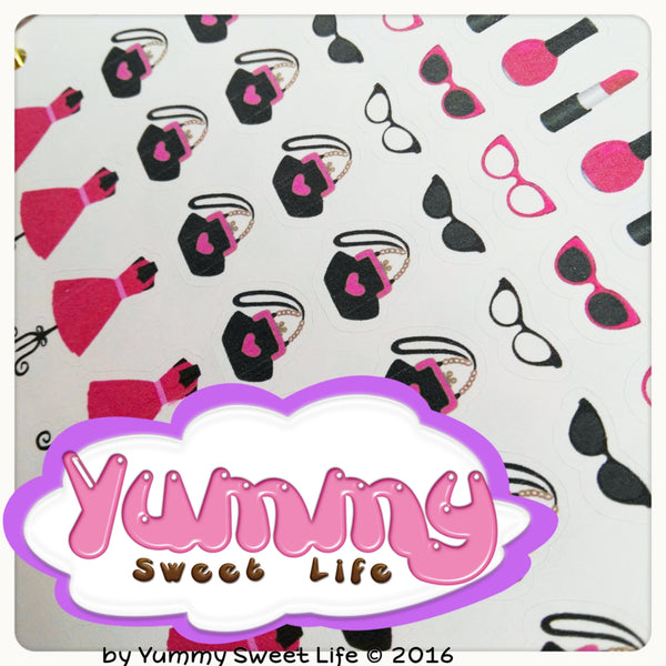 Love Glamour Stickers