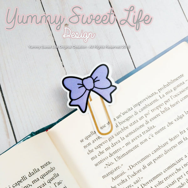 Die Cut Paperclip Bow small