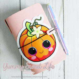 Cute Pumpkin Big Die Cut