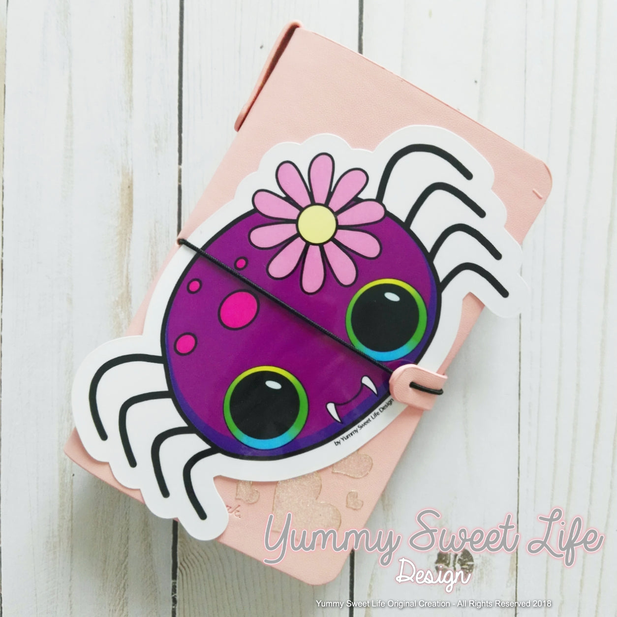 Cute Spider Big Die Cut