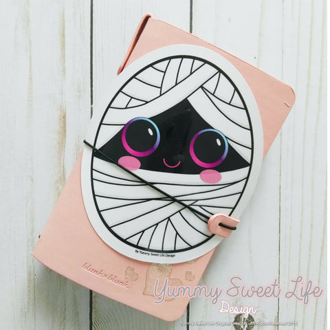 Cute Mummy Big Die Cut