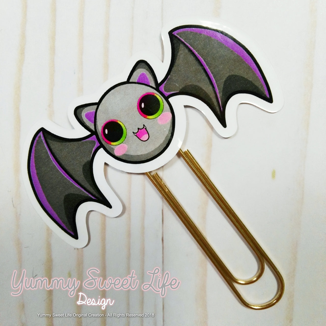 Cute Bat Paperclip