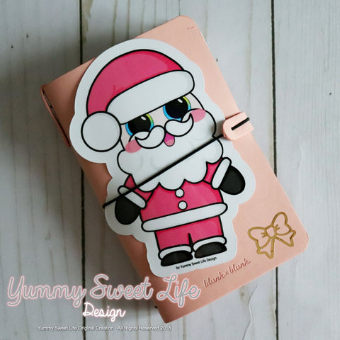 Cute Santa Claus Big Die Cut