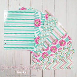 Dividers - Pink and Mint Set
