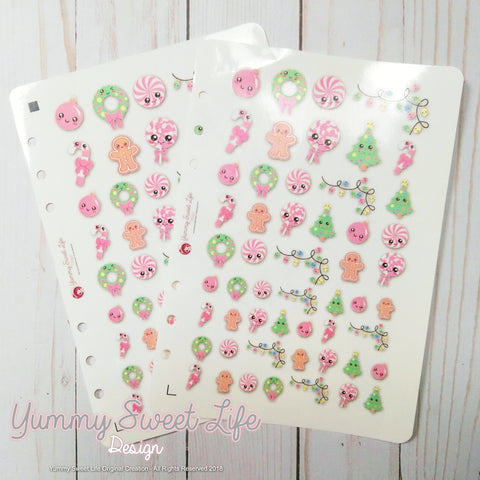 Kawaii Christmas Stickers