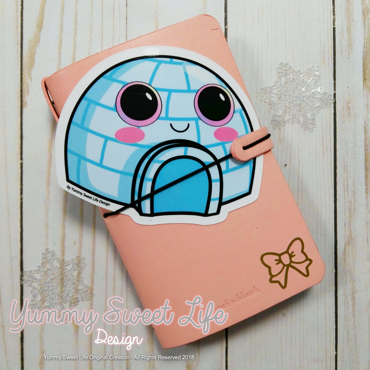 Cute Igloo Big Die Cut