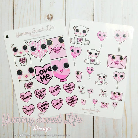 Love Stickers decor Kit