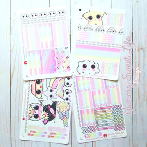 Magic Stickers Weekly Decor Kit