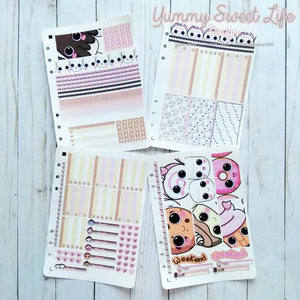 Sweets Stickers Weekly Decor Kit