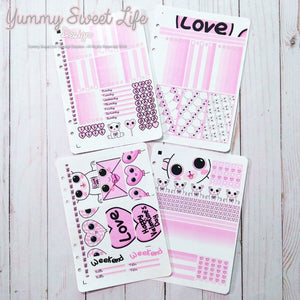 Valentine's Stickers Weekly Decor Kit