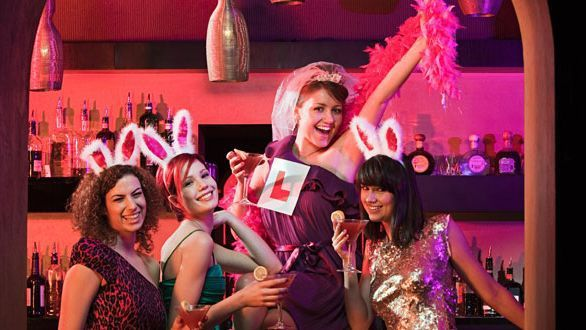 Hen Do Ideas for A Naughty Hen Party or a Classy Hen Party Theme | Hen Night Bags, Fancy Dress and other Ideas