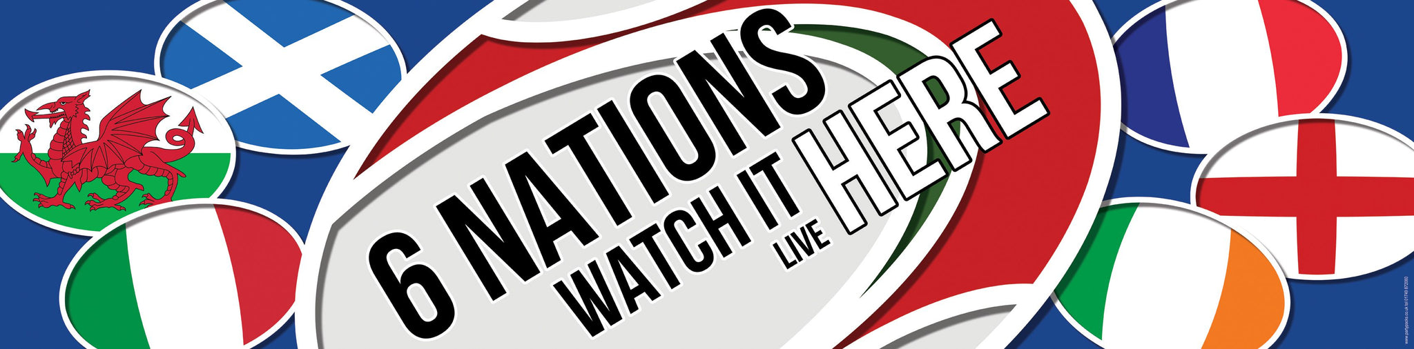 Six Nations Rugby - Starting 3rd February