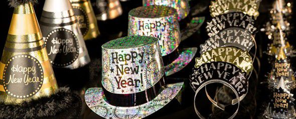 New Year's Eve Party Inspiration | Personalised Products, Decorations & Balloons