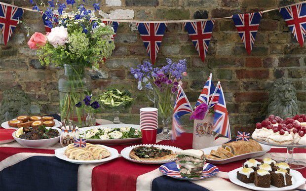 Recreate the Patron's Lunch or throw a British Street Party for the Queen's 90th Birthday