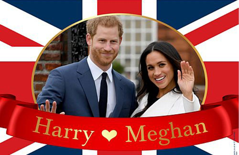 Let's Celebrate With Prince Harry And Meghan Markle - May 19th