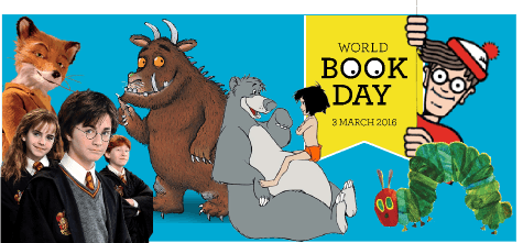 Top Costumes for World Book Day