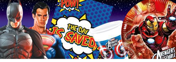 Throw a 'Marvel-icious' Superhero Party