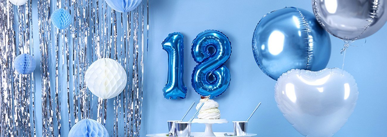 18th birthday party ideas and 18th birthday decorations and 18th birthday party