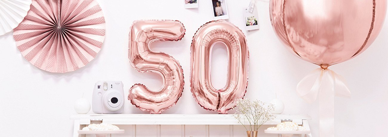 50th balloons, 50th birthday party ideas, 50th birthday party themes, 50th birthday banner, 50th birthday decorations, including 50th birthday table decorations