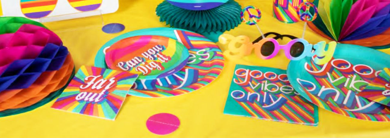 70's Disco Decorations & Tableware