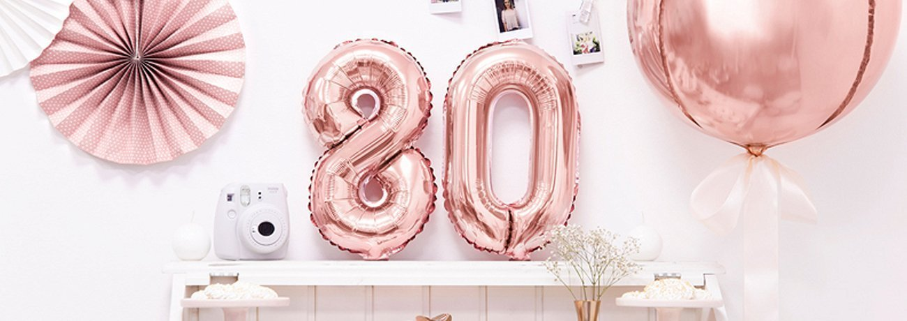 ideas for 80th birthday, 80th birthday party ideas, 80th birthday table decorations