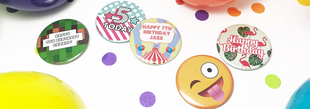Children's Birthday Badges