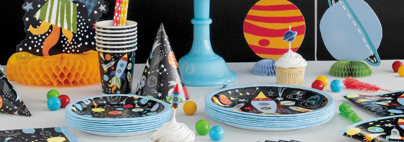 Children's Birthday Tableware Packs
