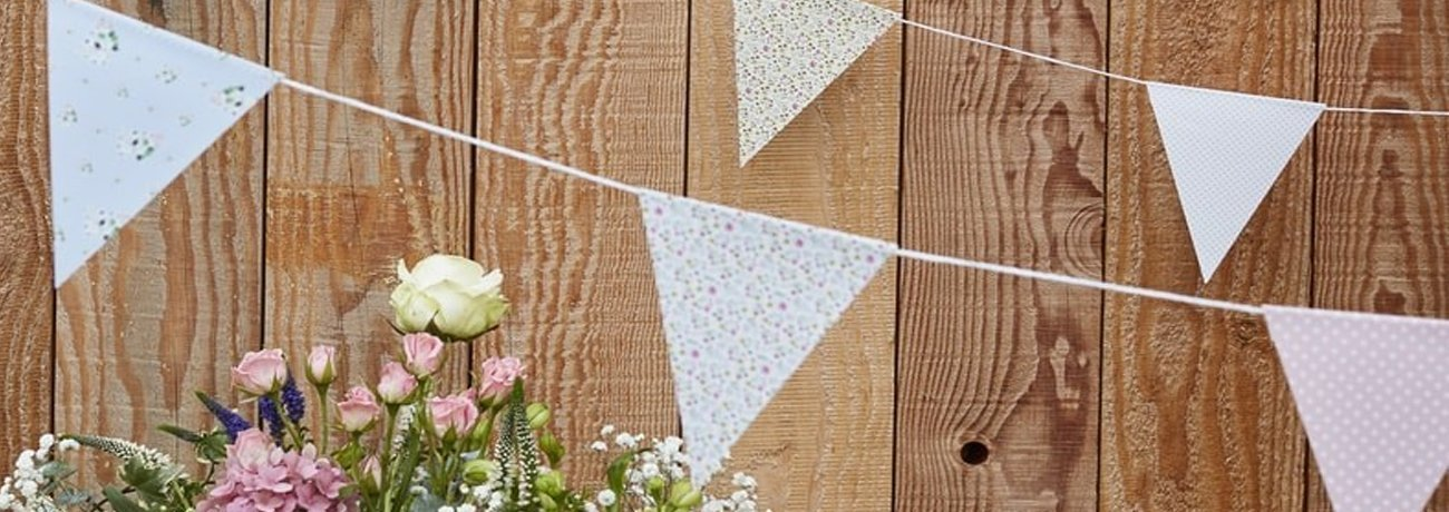 outdoor bunting, outside bunting