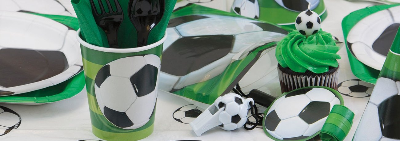 Football Decorations and Tableware