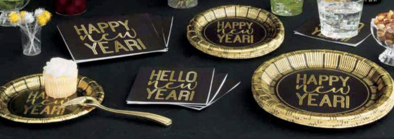 New Year Tableware & Accessories
