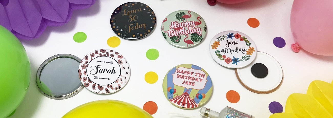Personalised mirrors and magnets