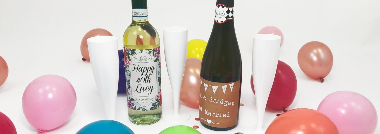 Personalised Wine Bottle Labels
