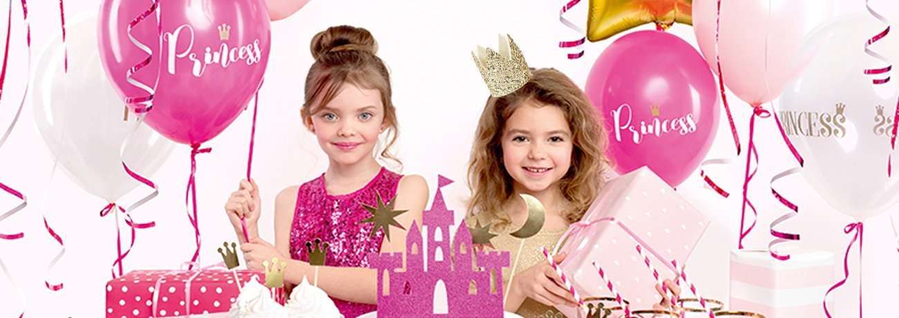 princess party ideas, princess party decorations