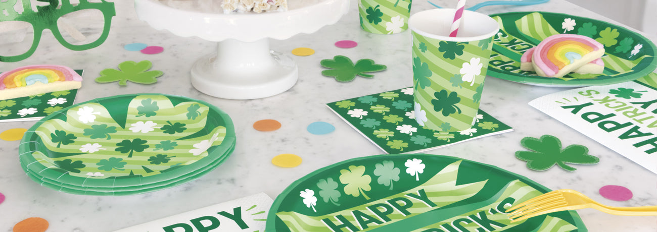 St. Patrick's Day Tableware & Decorations