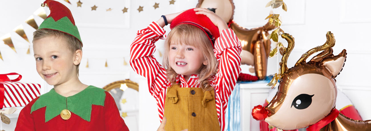 Children's Christmas Fancy Dress Costumes